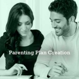 Co-parenting plan creation